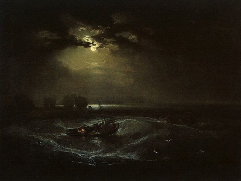 J. M. W. Turner: Fishermen at Sea