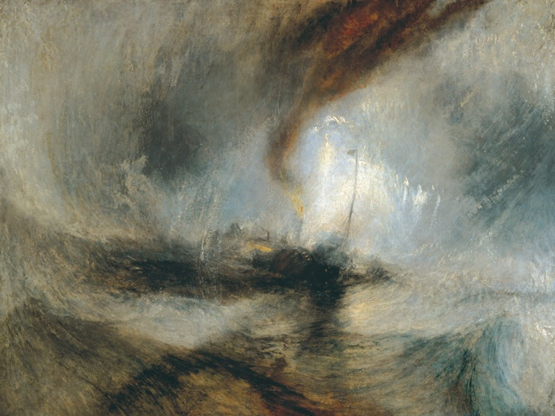 J. M. W. Turner: Snow Storm – Steam Boat off a Harbour's Mouth